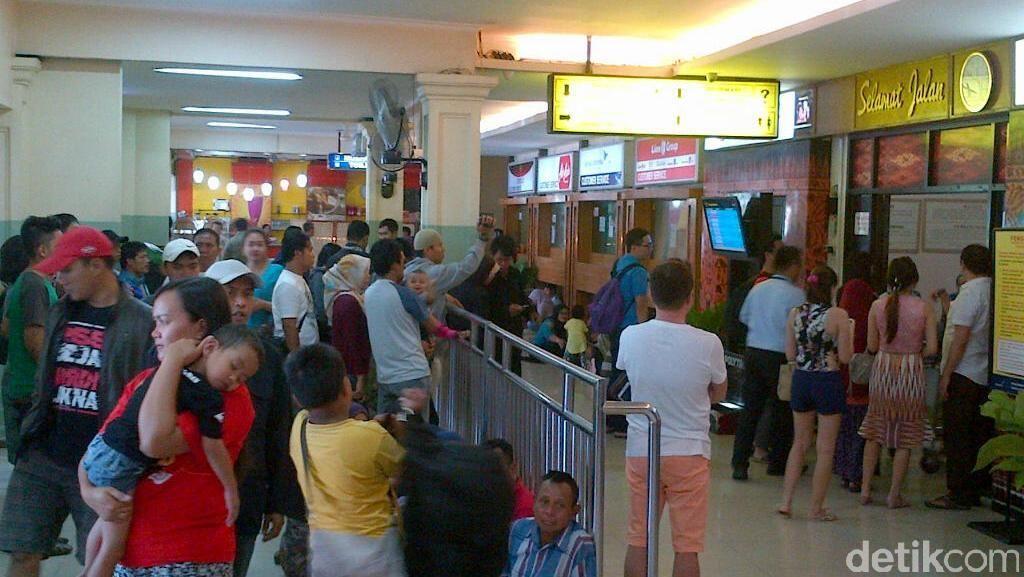 Dari 10 Penerbangan Garuda ke Jakarta dari Semarang, Baru 1 yang Berangkat