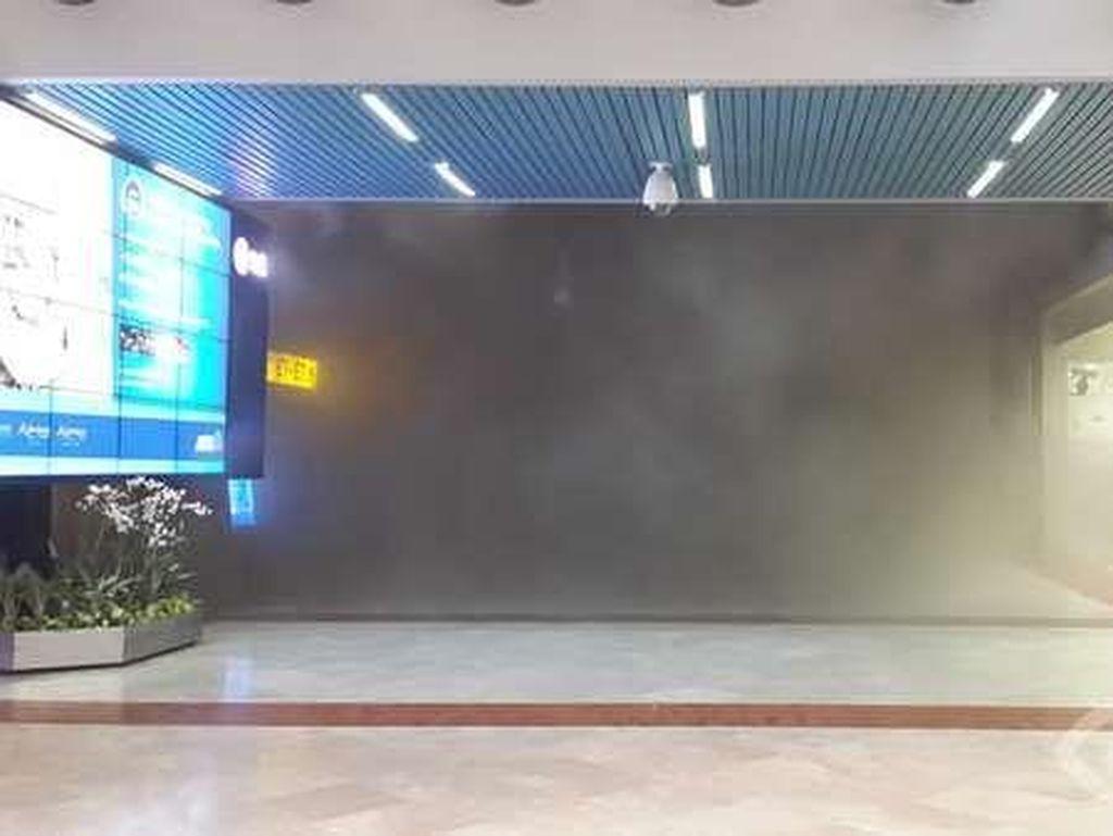 Saksi Sebut Kebakaran Berawal dari Lampu di JW Lounge yang Meledak