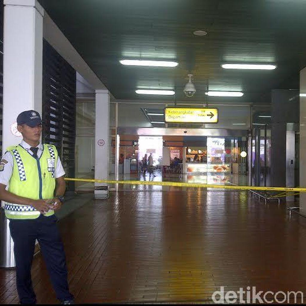 Kebakaran di Cengkareng, Penerbangan Internasional Garuda Tertunda