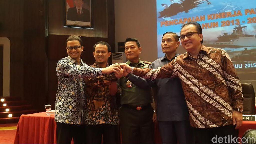 Komisi I DPR Apresiasi Kinerja Panglima TNI Jenderal Moeldoko