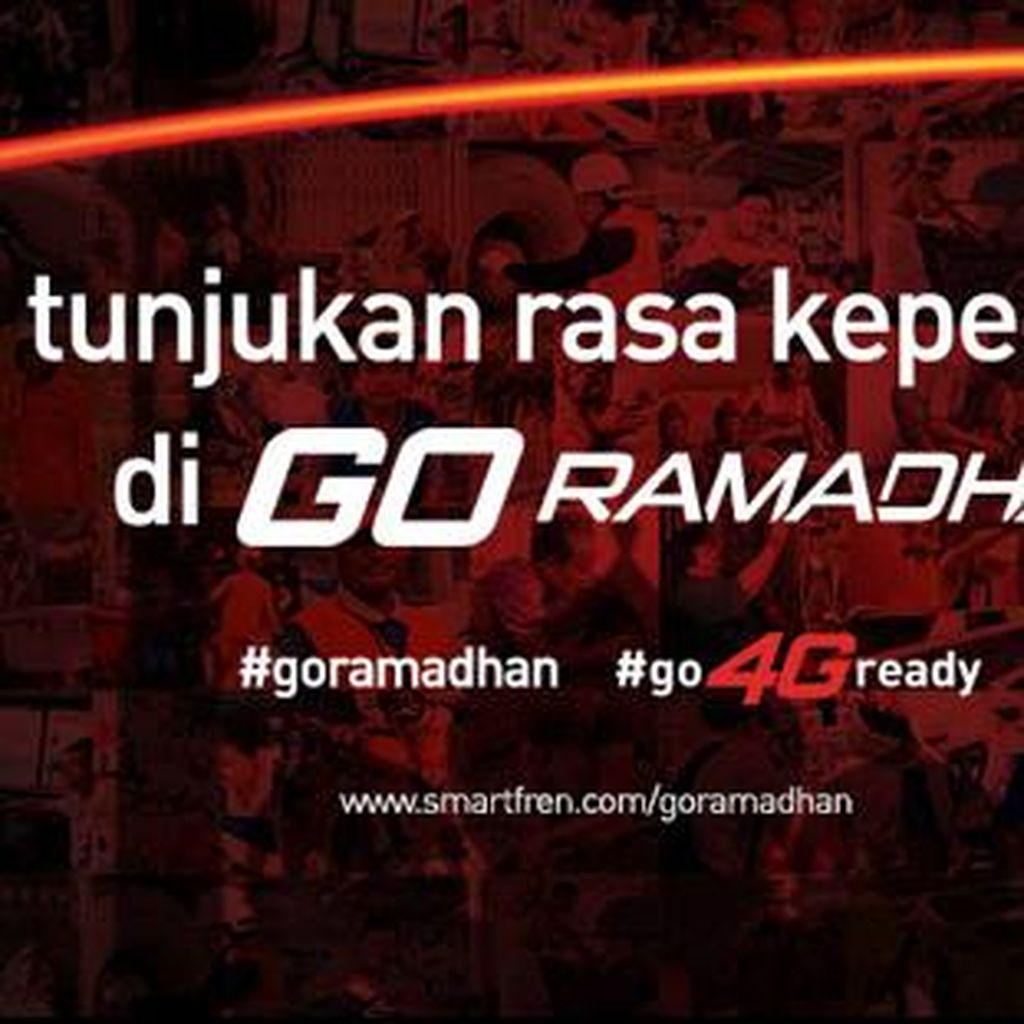 Ayo Tunjukan Rasa Kepedulianmu bersama Smartfren #GoRamadhan