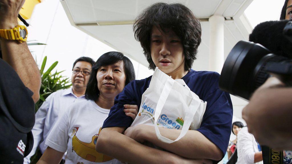 Hina Mendiang Lee Kuan Yew, ABG Singapura Divonis 4 Minggu Penjara