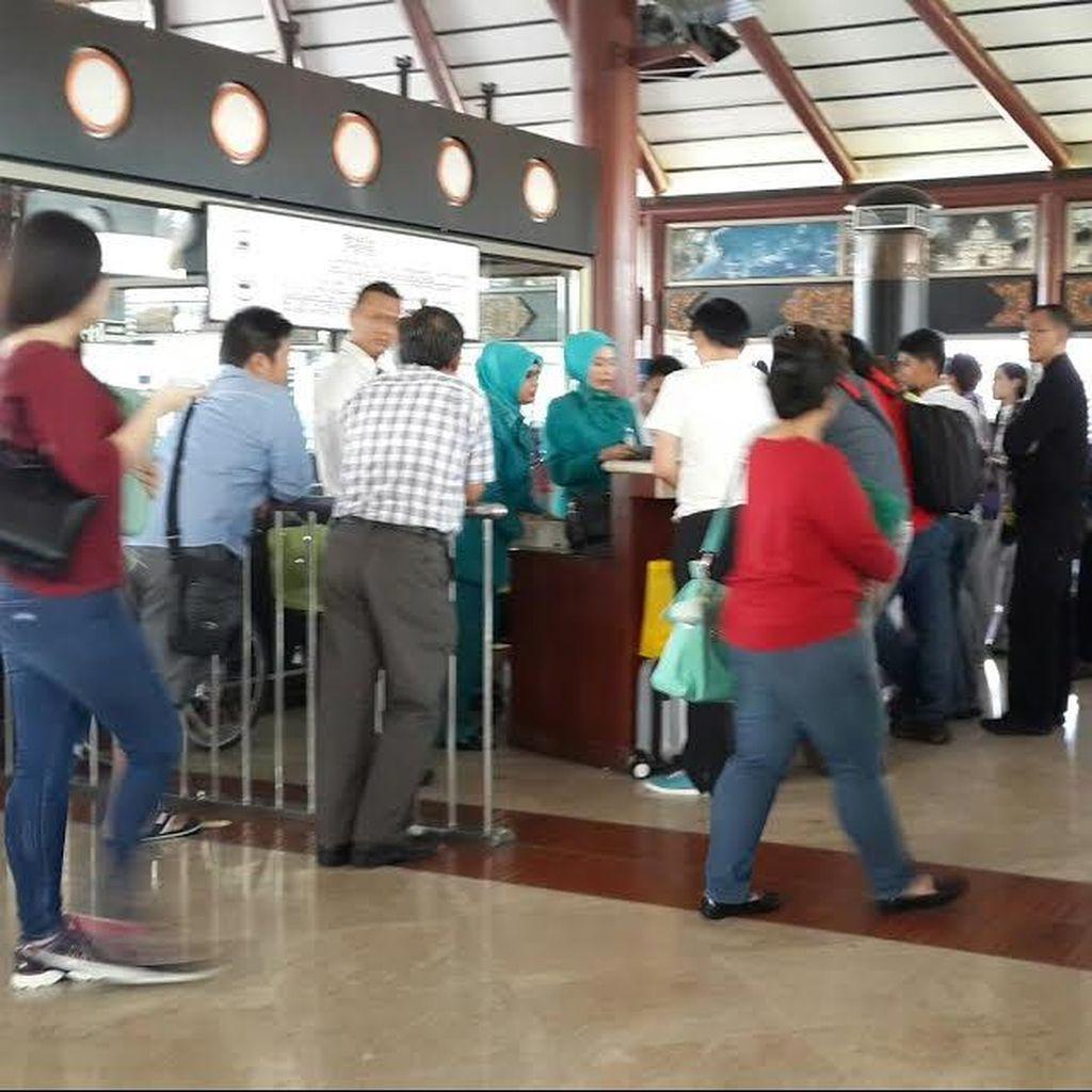 Penumpang Garuda Tujuan Singapura dan Bangkok Masih Mesti Sabar Menunggu