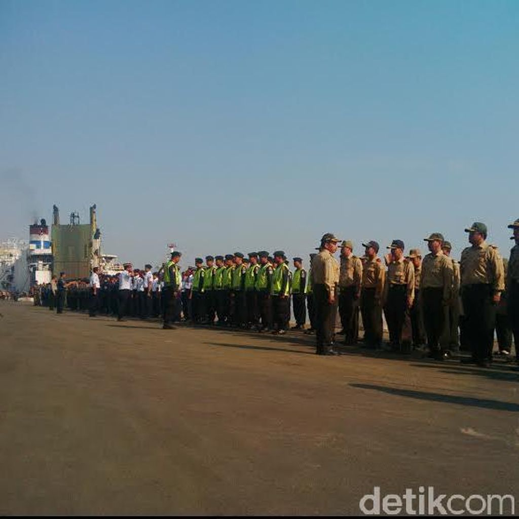 Satgas Gabungan Siap Amankan Arus Mudik Balik di Pelabuhan Tanjung Perak