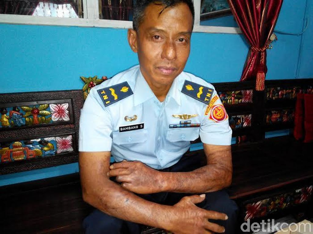 Pekik Takbir yang Diingat Bambang Hercules Saat Pesawat Jatuh di Condet