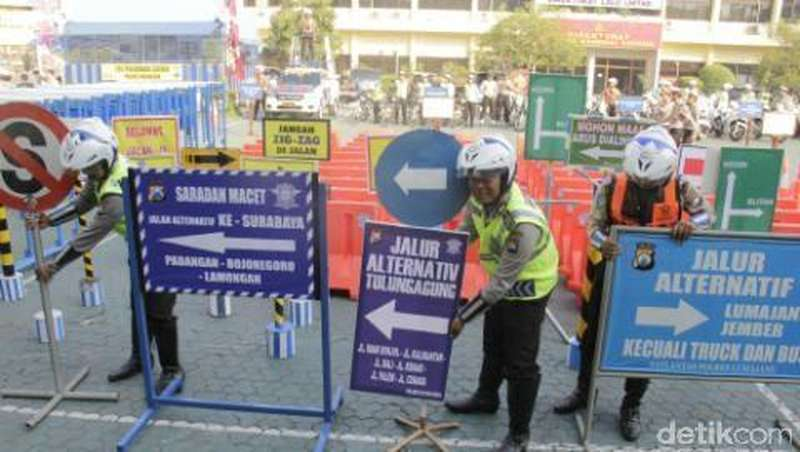 Berikut Lokasi Titik Kemacetan di Jalur Tengah Surabaya-Ngawi