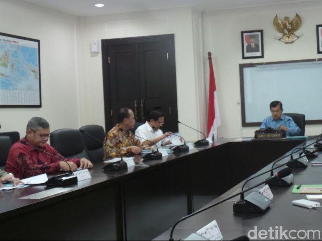 Wapres Gelar Rapat Anggaran Kerja Pembangunan Infrastruktur
