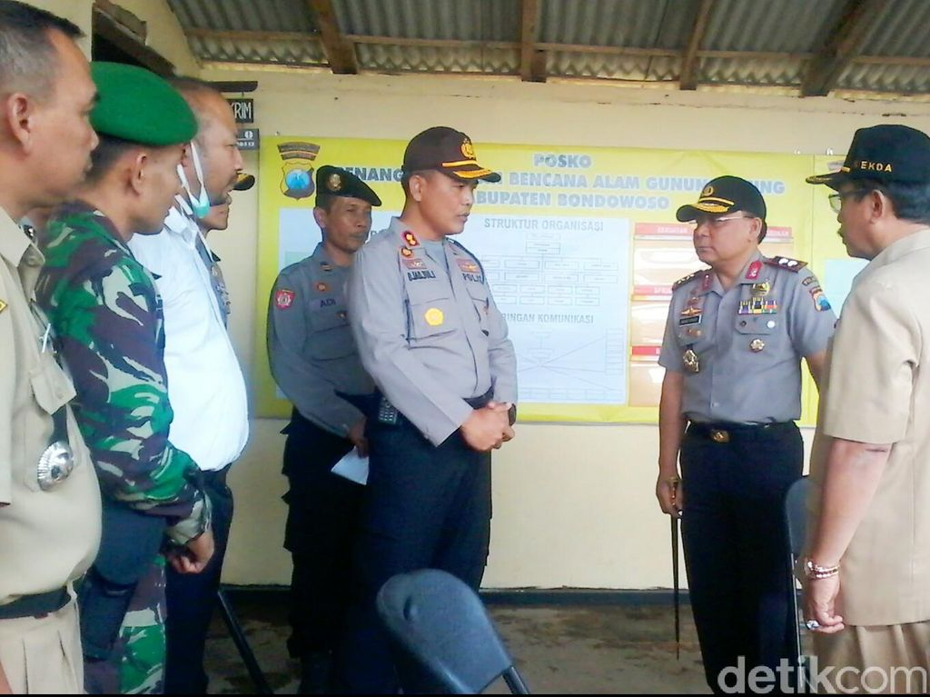 Kapolda Jatim Imbau Wilayah Terdampak Gelar Simulasi Bencana Gunung Raung