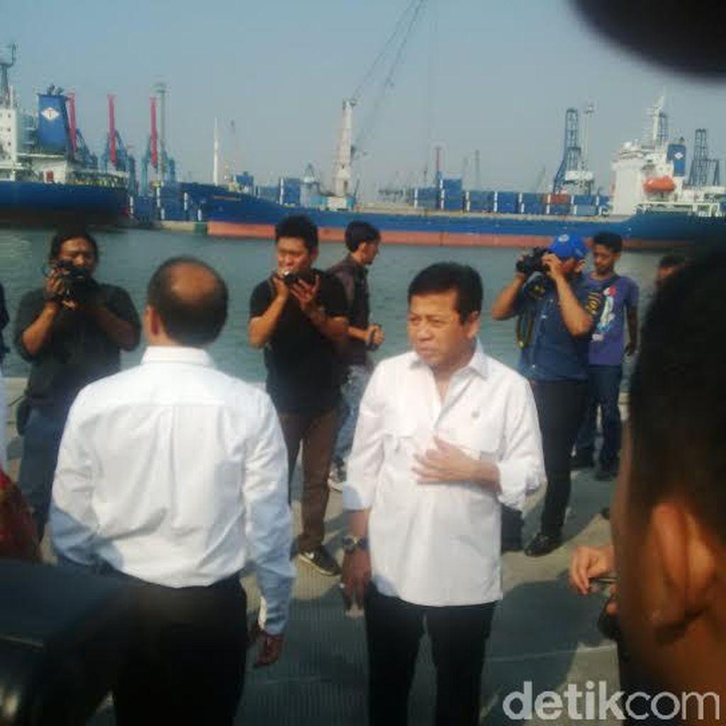 Ketua DPR Tinjau Pelabuhan Tanjung Priok