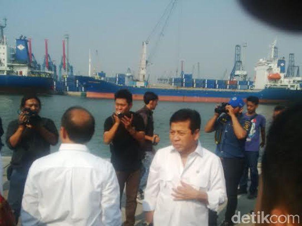 Ketua DPR Cek Persiapan Mudik di Pelabuhan Tanjung Priok
