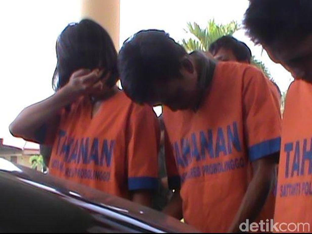 Komplotan Pencuri Mobil Rental Digulung Polisi Probolinggo