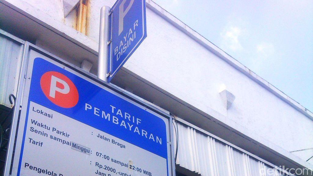 Wajah e-Parking Bandung yang Jadi Pelopor di Indonesia