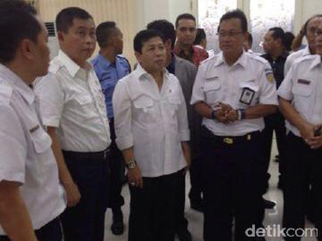 Ketua DPR dan Menhub Jonan Tinjau Persiapan Mudik di Stasiun Senen