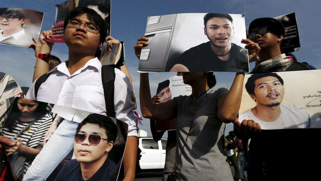 Sempat Ditahan karena Demo, 14 Mahasiswa Thailand Akhirnya Bebas