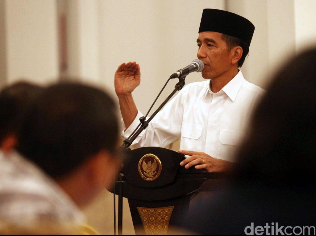 Jokowi-JK Buka Puasa Bersama di Mabes TNI