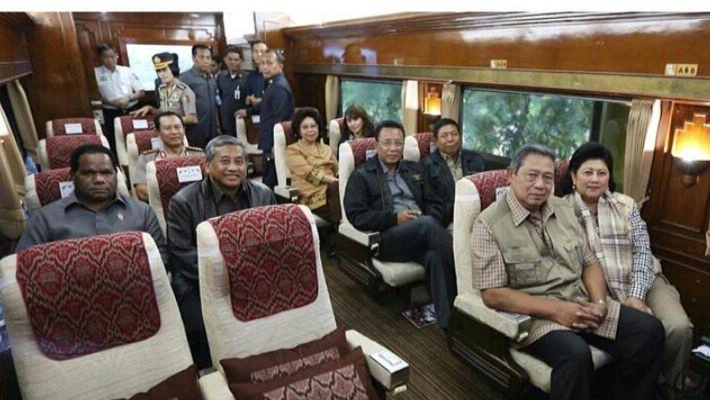 SBY dan Gus Dur, Presiden Paling Sering Naik KA Wisata