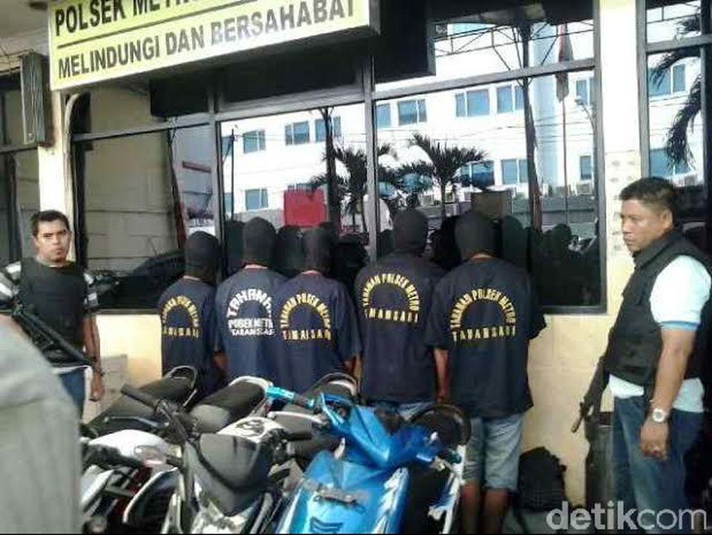 Polisi Tangkap Pelaku Ranmor Kelompok Pandeglang di Taman Sari
