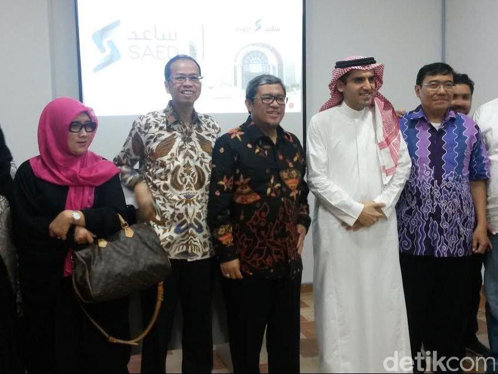 Aher Kunjungi Perusahaan Pelatihan Tenaga Kerja di Jeddah