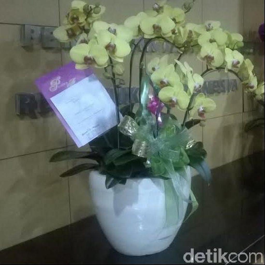 Pimpinan KPK Dapat Kiriman Bunga Anggrek Cantik dari Pemerintah Taiwan