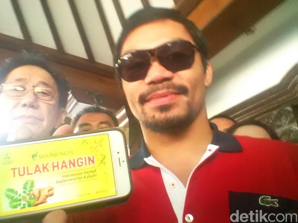 Pacman Jadi Bintang Iklan Jamu Tolak Angin, Hari ini Syuting di Indonesia