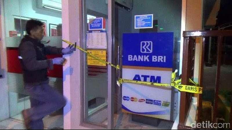 ATM BRI di Kantor Samsat Tuban Dibobol Pencuri