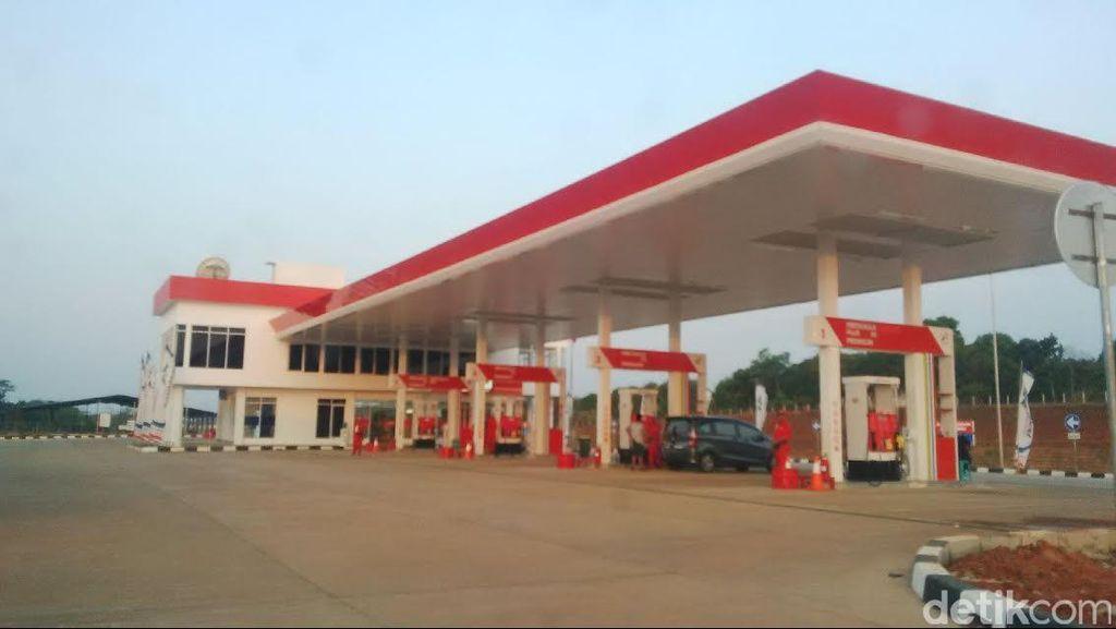Baru 1 SPBU yang Dioperasikan di Rest Area Tol Cipali arah Cirebon