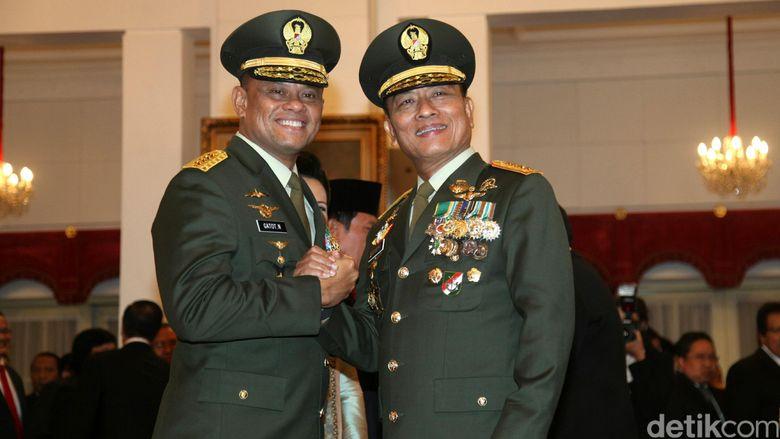Panglima TNI Gatot Siap Perkuat TNI AU dan AL