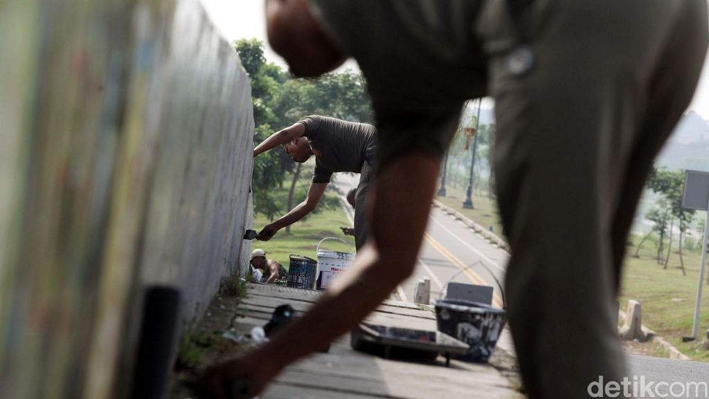 Patung Jenderal Sudirman Dicorat- coret, Pemprov DKI Akan Pasang CCTV