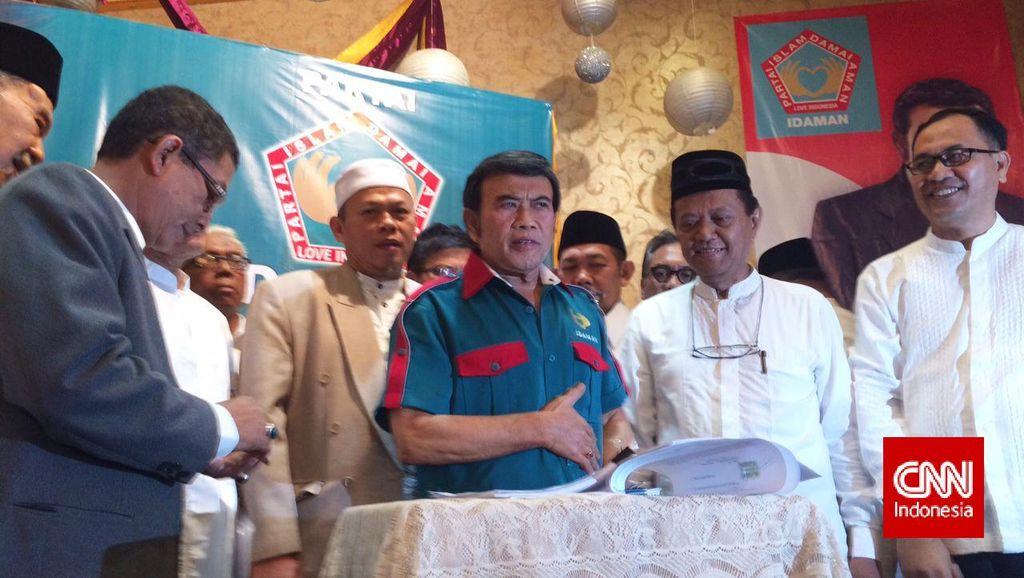 Rhoma Irama Yakin Partai Idaman Mampu Bersaing di Pemilu 2019