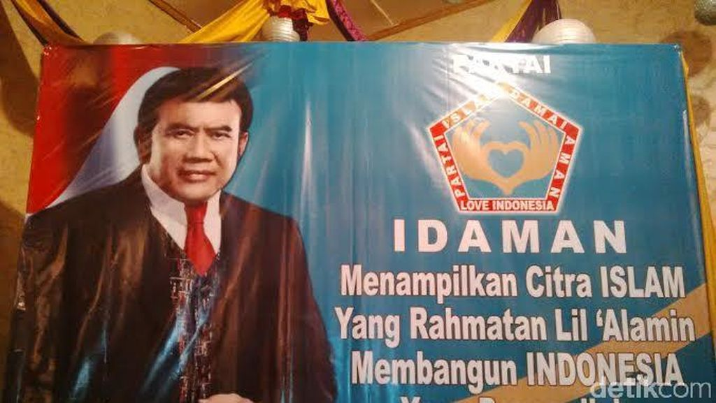Love, Love Indonesia Partai Idaman Bang Rhoma