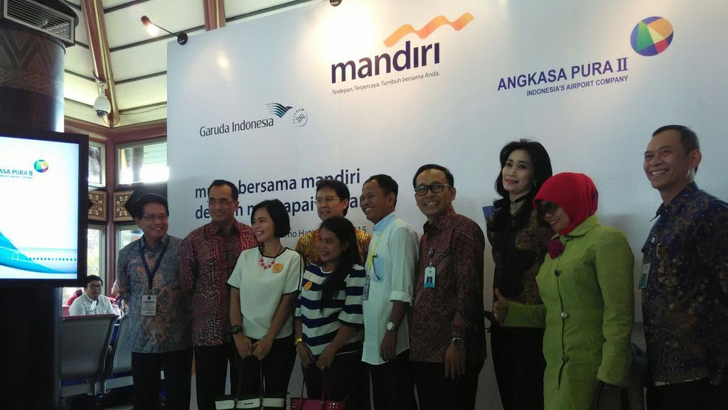Kolaborasi dengan Garuda Indonesia, Bank Mandiri Gelar Mudik Bersama