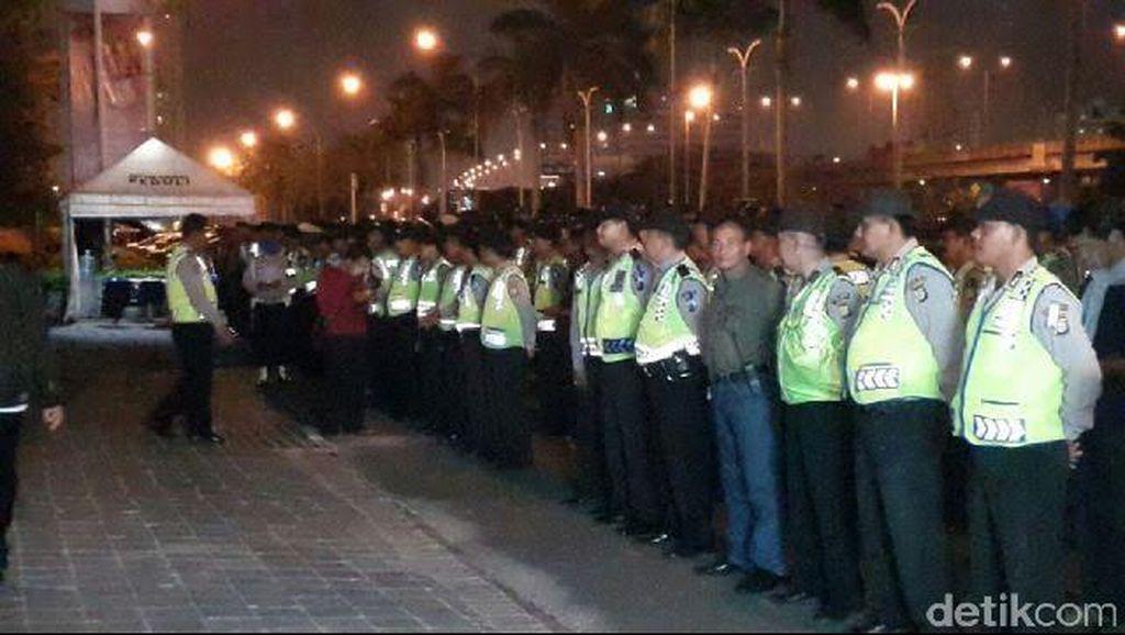 Antisipasi Tawuran SOTR, Polres Jakarta Utara Terjunkan 181 Personel
