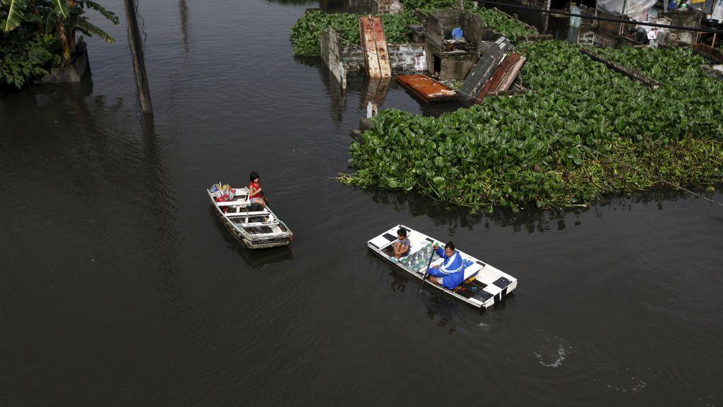 Hujan Deras Picu Banjir dan Longsor di Filipina, 8 Orang Tewas