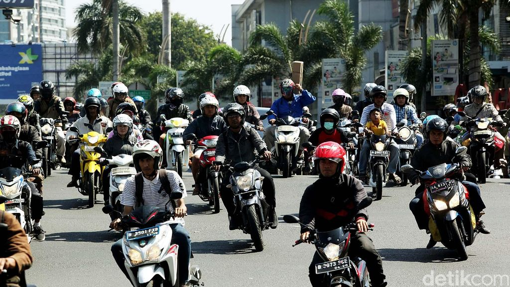 Polisi Akan Paksa Pemudik dengan Motor untuk Berhenti Istirahat 15 Menit