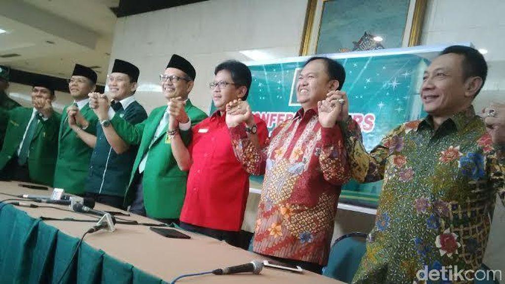 KIH Plus Golkar Dukung Revisi UU KPK, KMP Menentang