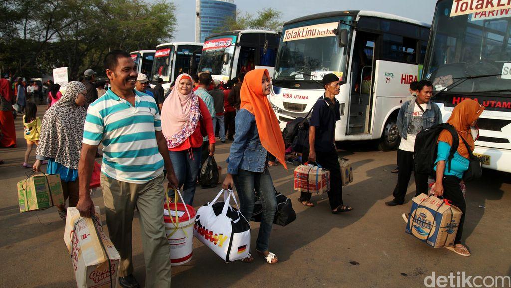 Pendaftaran Mudik Gratis Kemenhub dengan Bus Dibuka Hari ini