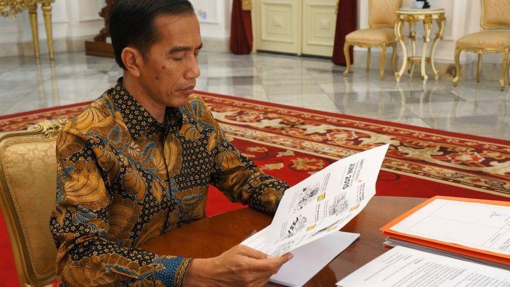 Ada 12 Calon Tunggal di Pilkada Serentak, Jokowi Sebut Belum Perlu Perppu