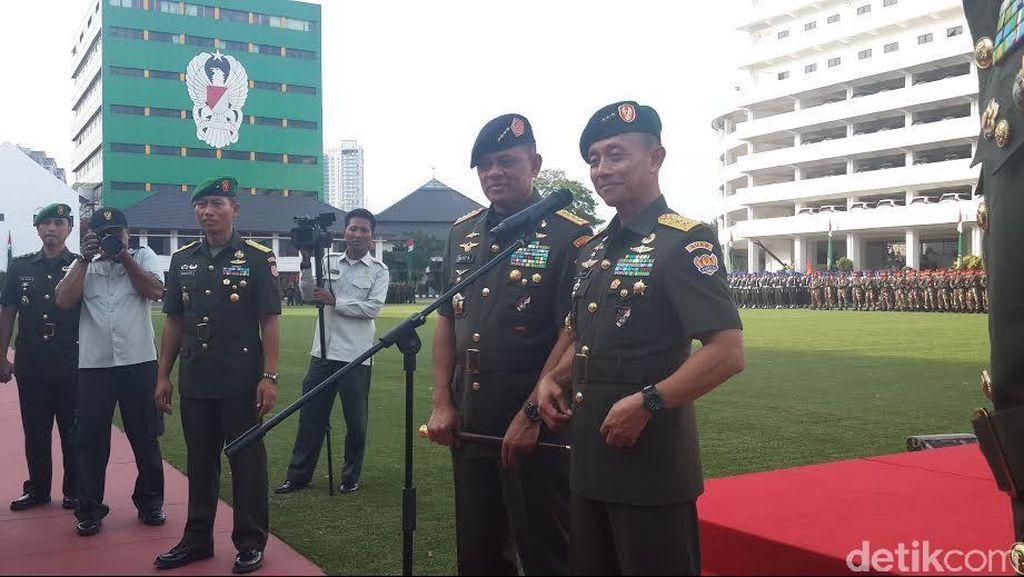 KSAD: Jangan Terprovokasi Oknum, TNI dan Polri Harus Solid