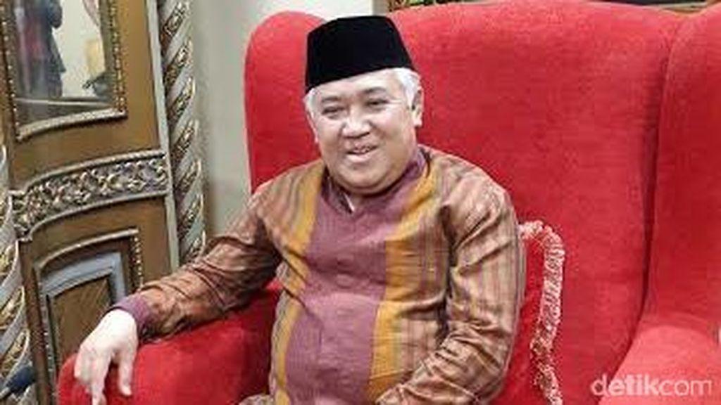 Din Syamsuddin: Kader Muhammadiyah Tak Harus Jadi Menteri