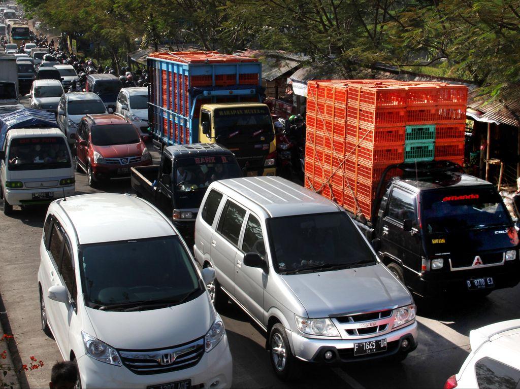 Jalur Selatan Jawa Barat Paling Banyak Dilintasi Pemudik