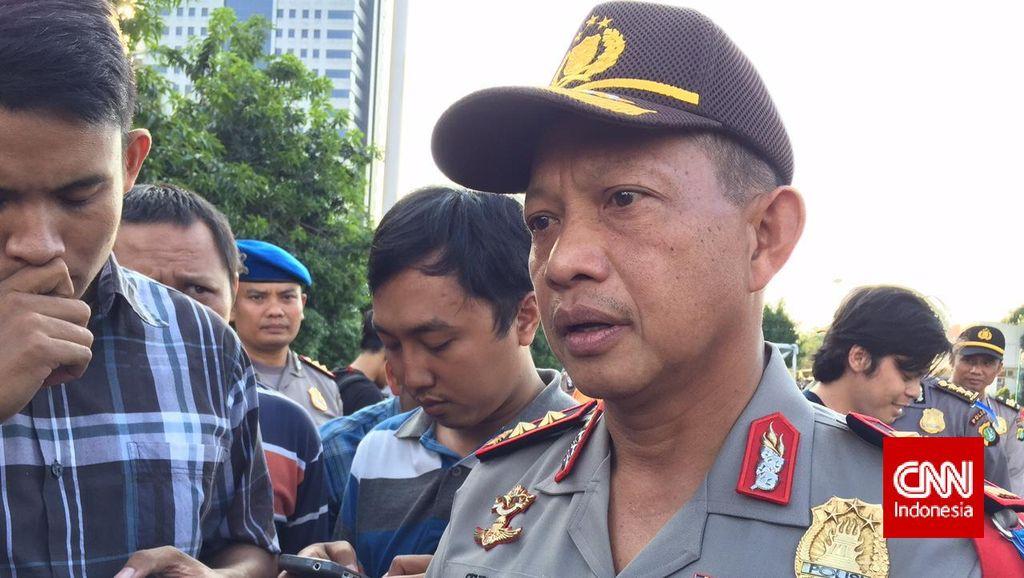 Massa Buruh JICT Mogok dan Berdemo, Kapolda Metro Turun ke Lokasi