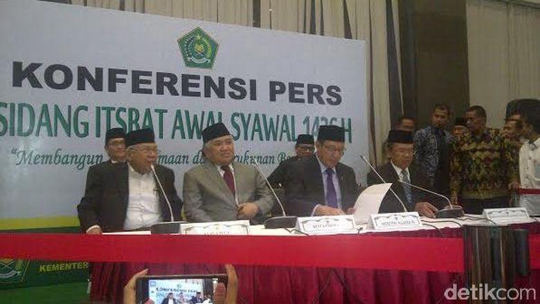 Pemerintah Tetapkan Idul Fitri 1436 H Jatuh Pada Jumat 17 Juli 2015