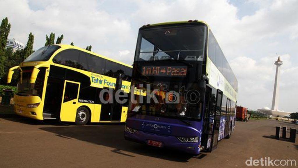 Pemprov DKI Uji Coba Bus Pariwisata Hingga Kota Tua dan Senayan