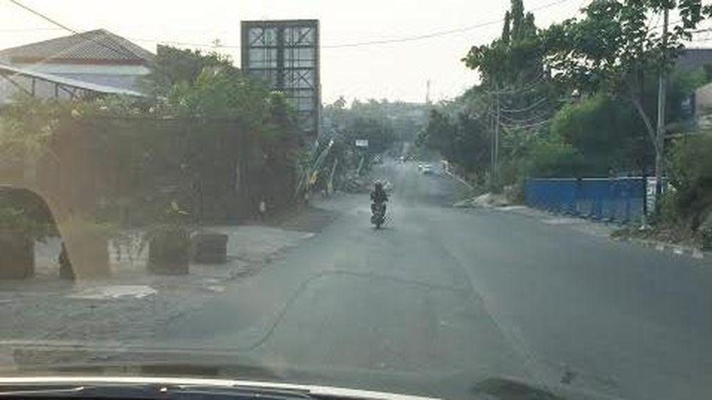Biasanya Macet Parah, Pagi ini Jl Deplu Masih Landai dan Ini Fotonya