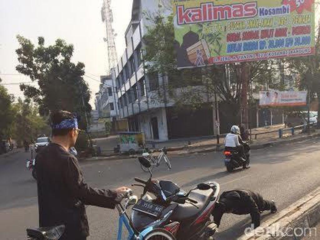 Ridwan Kamil: Hukuman Push-up Bagi Pelanggar Lalin Hanya Shock Therapy