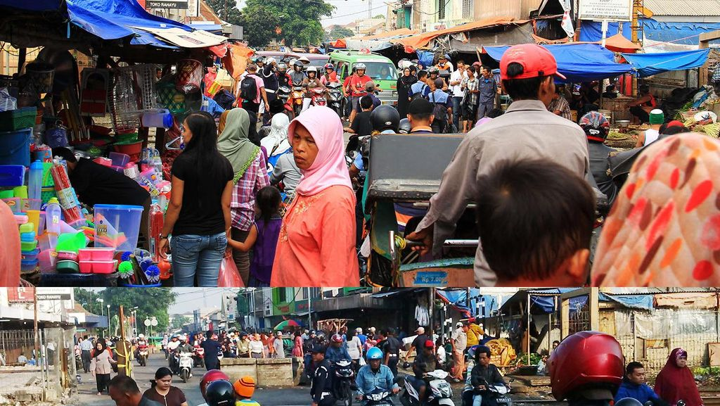 Wajah Pasar Anyar Bogor yang Dulu Semrawut dan Kini Tertata