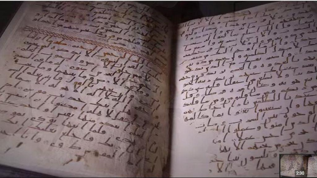 Melihat 3 Manuskrip Al Quran Tertua di Dunia