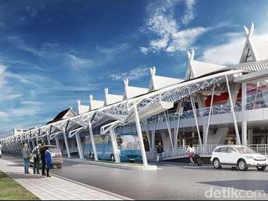 Renovasi Bandara Husein Sastranegara Sudah 70 Persen