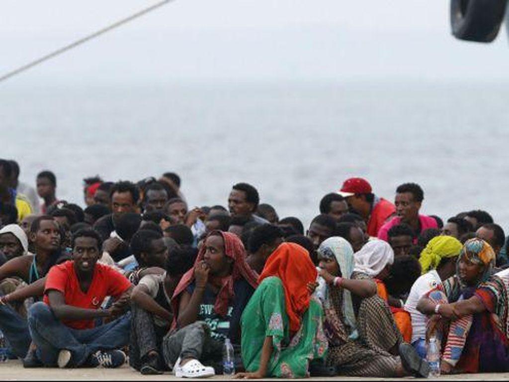Puluhan Migran Tenggelam di Lepas Pantai Libia