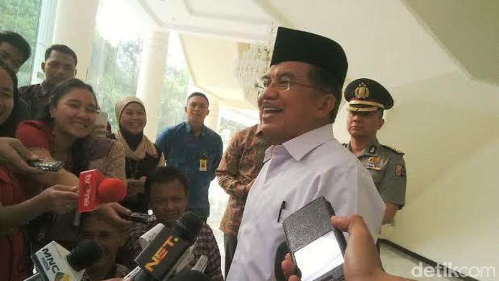 JK Tegaskan Pilkada Daerah yang Cuma Punya Calon Tunggal Harus Ditunda